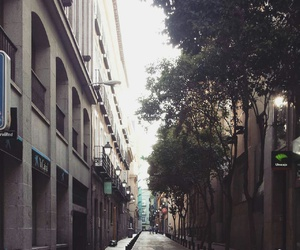 calle, centro, and madrid image