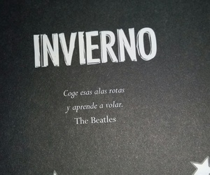 books, frases, and invierno image