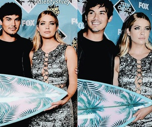 haleb, ashley benson, and pretty little liars image