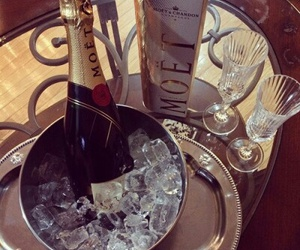 moet, luxury, and drink image