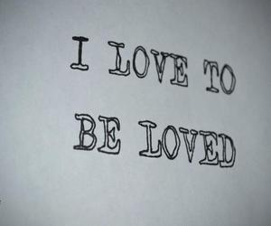 loved, text, and Paper image