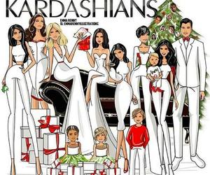 kardashians, christmas, and kim kardashian image
