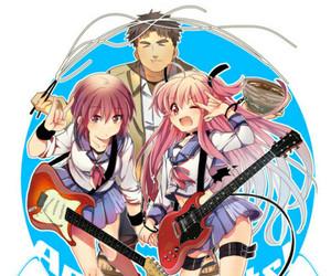 anime, yui, and angel beats image