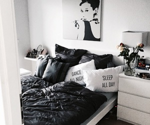 bedroom, girl, and decoration image