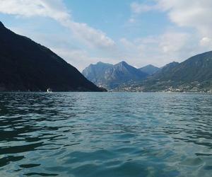 beautiful, italy, and lake image