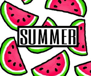 summer, wallpaper, and wotermelon image