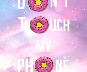 donuts, simpsons, and pink image