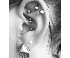 conch, helix, and piercing image
