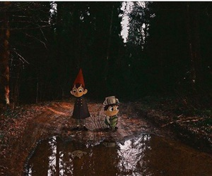 real life and over the garden wall image