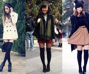 black, mallas, and fashion image