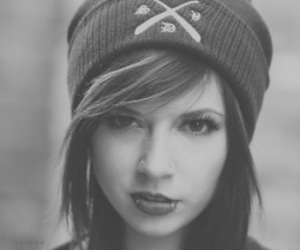 piercing, tuque, and girl image