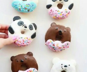 bears, donuts, and cute image