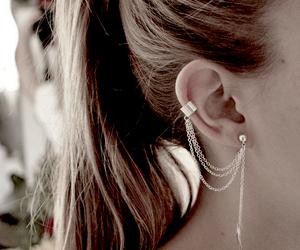 earrings and hair image