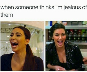 funny, lol, and jealous image