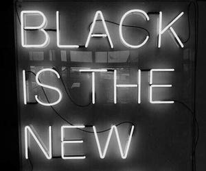 black, light, and grunge image
