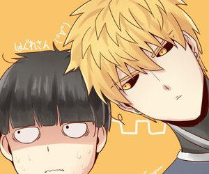 Reigen, teru, and mob psycho 100 image
