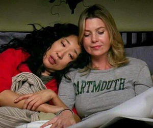 grey's anatomy, meredith, and cristina image