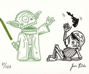 star wars and yoda image