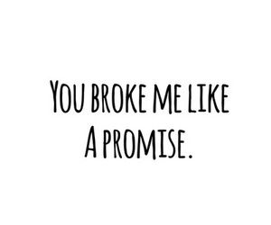 promise, love, and broken image