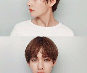v, bts, and taehyung image
