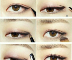 makeup and korean image