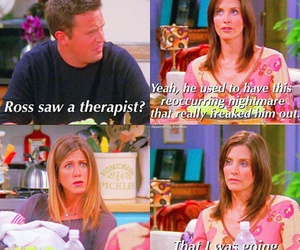 chandler, monica, and quotes image