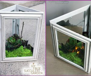 picture frame craft ideas and gardening indoor image