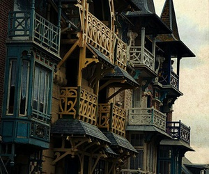 france, architecture, and balconies image