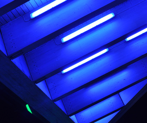 aesthetic, color, and neon blue image