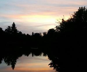 lake, lakes, and reflection image