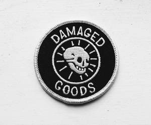 aesthetic, patch, and black image