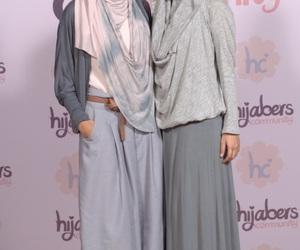 hijab, nice style, and muslim girls image