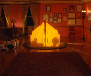 film, The Royal Tenenbaums, and house image