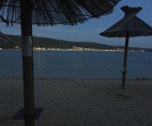beach, krk, and Croatia image