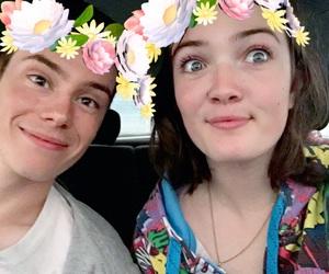 he's mine, we so cute, and i'm weird i know image