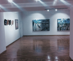 art, interior, and gallery image