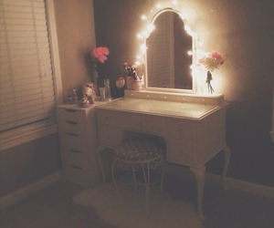 girly, bedroom, and decor image