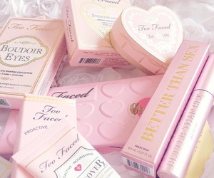 pink, too faced, and make up image