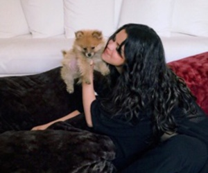 selena gomez, dog, and selenagomez image