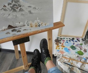 art, grunge, and aesthetic image