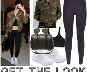 airport, bag, and clothes image