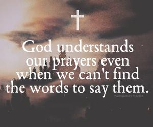 god, prayer, and jesus image