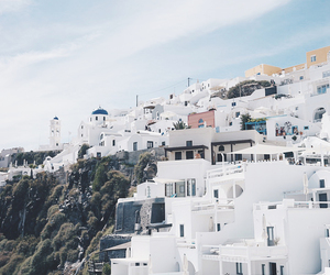 Greece, places, and santorini image