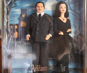 barbie and the addams family image