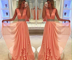 long dress, luxury, and party dress image