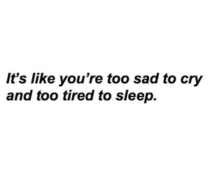 sad, depressed, and quote image