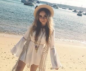 sabrina carpenter and beach image