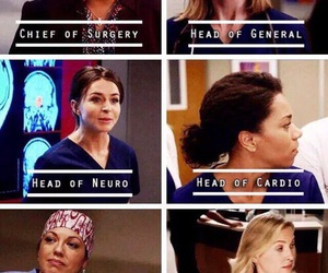 grey's anatomy and girls image