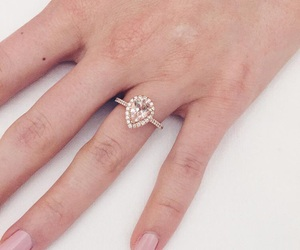 engagement ring and aspyn ovard image