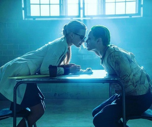 joker, suicide squad, and harley quinn image